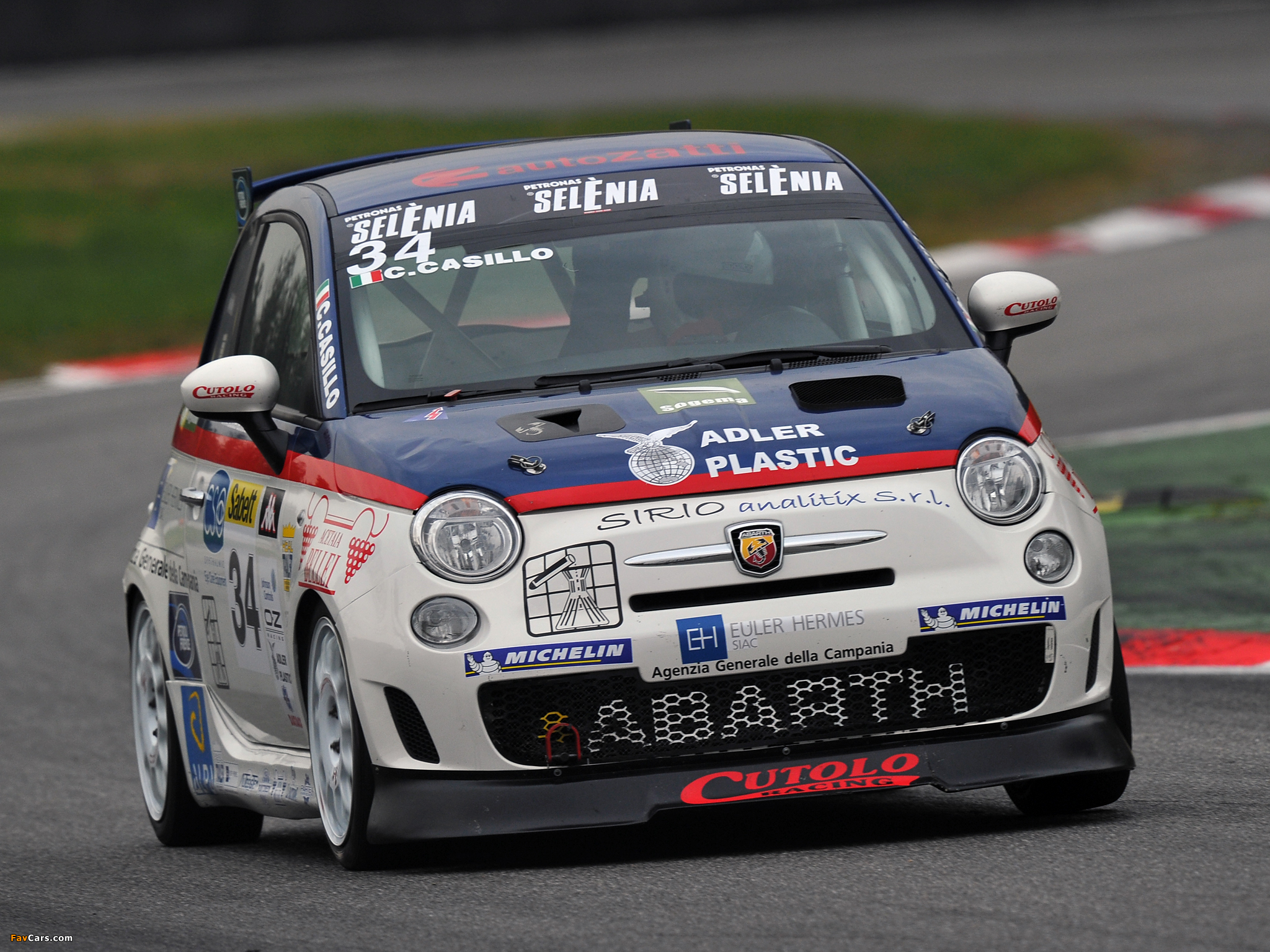 Abarth 500 Assetto Corse 2008 Images 2048x1536
