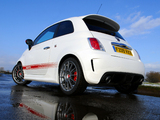 Abarth 500 esseesse UK-spec (2009) photos