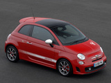 Abarth 500 UK-spec (2009) photos