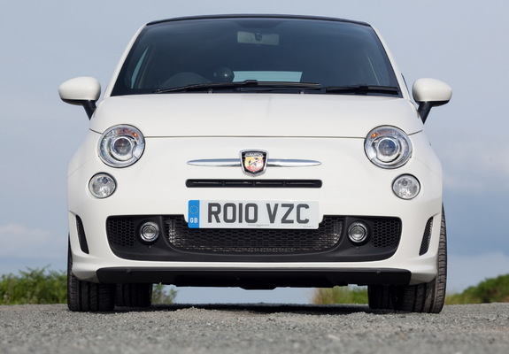 Abarth 500c Uk Spec 2010 Images