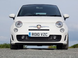 Abarth 500C UK-spec (2010) images