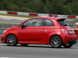 Abarth 695 Tributo Ferrari (2010) pictures