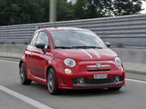 Abarth 695 Tributo Ferrari (2010) wallpapers