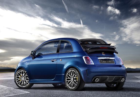Abarth 500c Cabrio Italia 2011 Wallpapers