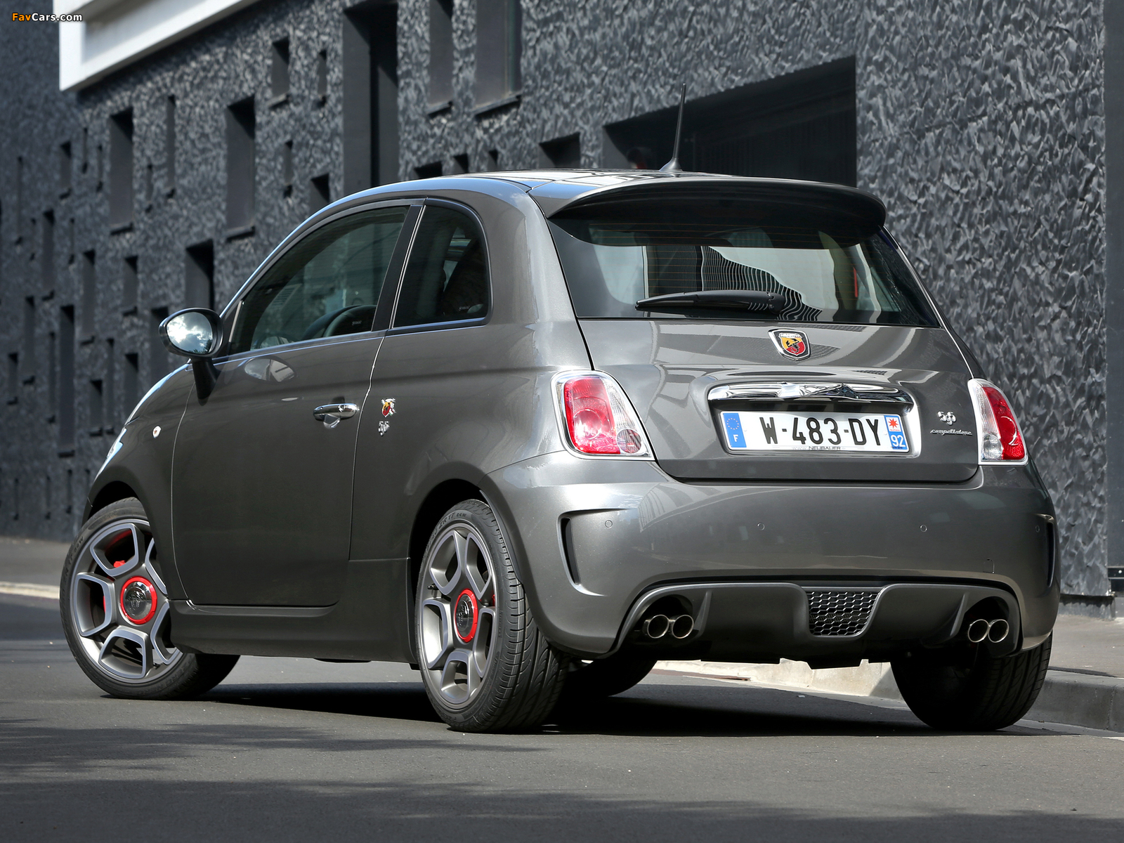 abarth 595 competizione 2012 wallpapers 1600x1200. Black Bedroom Furniture Sets. Home Design Ideas