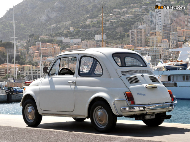 Fiat Abarth 595 110 1965 1971 Pictures 640x480