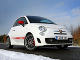 Images of Abarth 500 esseesse UK-spec (2009)