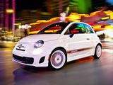 Photos of Fiat 500 Abarth US-spec (2012)