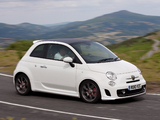 Pictures of Abarth 500C UK-spec (2010)