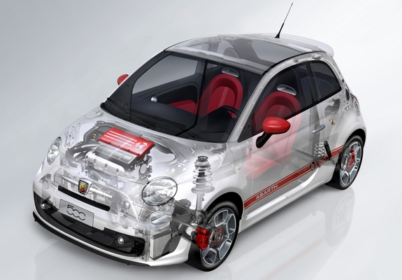 Wallpapers Of Abarth 500 2008 800x600