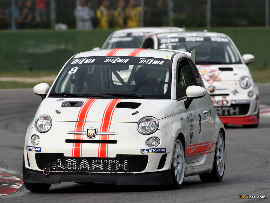 Wallpapers Of Abarth 500 Assetto Corse 2008 1024x768