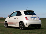 Abarth 500 JP-spec (2009) wallpapers