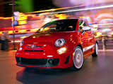 Wallpapers of Fiat 500 Abarth US-spec (2012)
