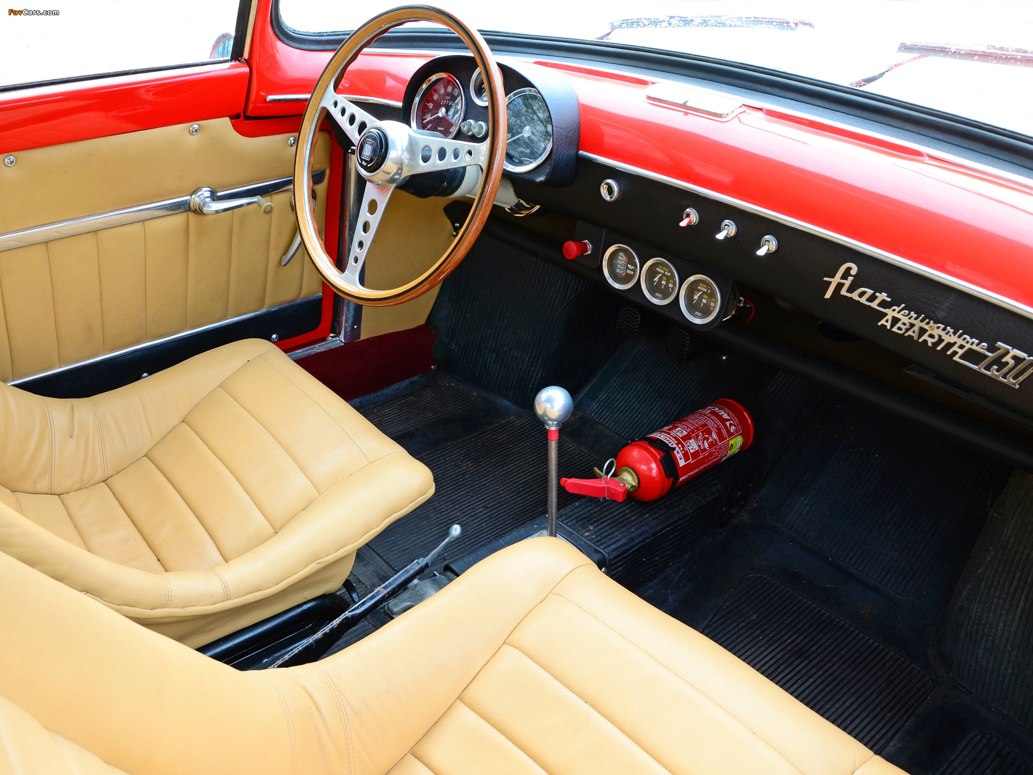 Fiat Abarth 750 Coupe By Viotti 1956 Images 2048x1536