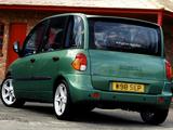 Images of Fiat Multipla Abarth Look UK-spec (2000–2001)