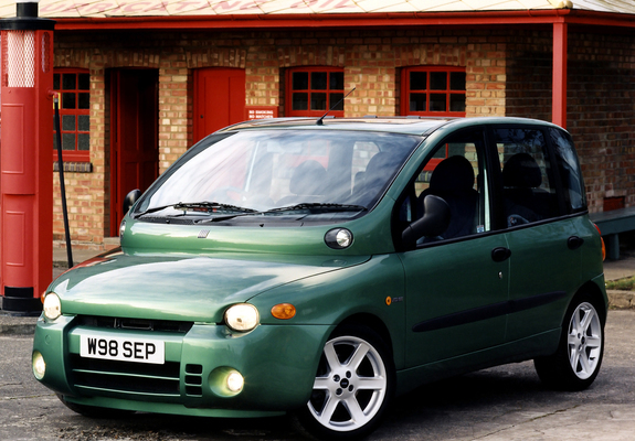 photos of fiat multipla abarth look uk spec 2000 2001. Black Bedroom Furniture Sets. Home Design Ideas
