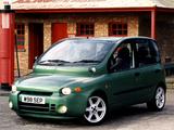 Photos of Fiat Multipla Abarth Look UK-spec (2000–2001)