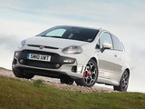 Abarth Punto Evo UK-spec 199 (2010) images