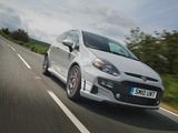 Abarth Punto Evo UK-spec 199 (2010) photos