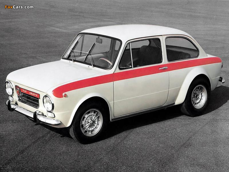 Fiat Abarth Ot 1600 1964 1968 Wallpapers 800x600