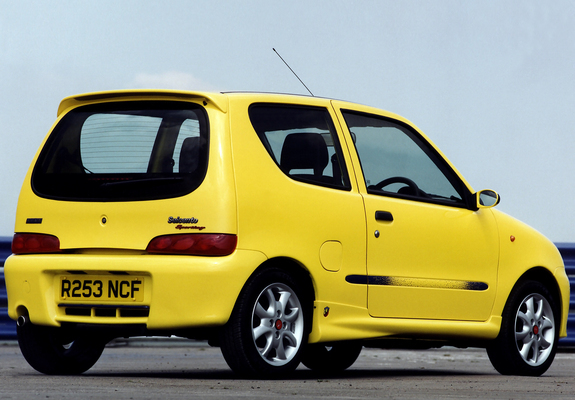 ... Preview - Fiat Seicento Sporting Abarth UK-spec (1998–2001) images