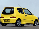 Fiat Seicento Sporting Abarth UK-spec (1998–2001) images