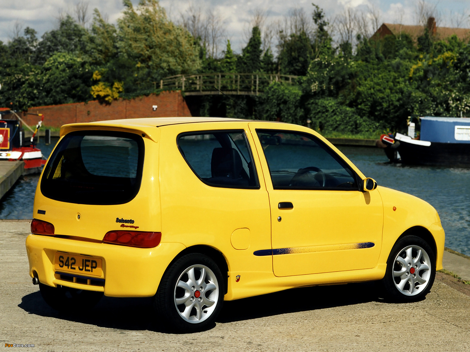 Fiat Seicento Sporting Abarth UK-spec (1998–2001) pictures (1600 x ...