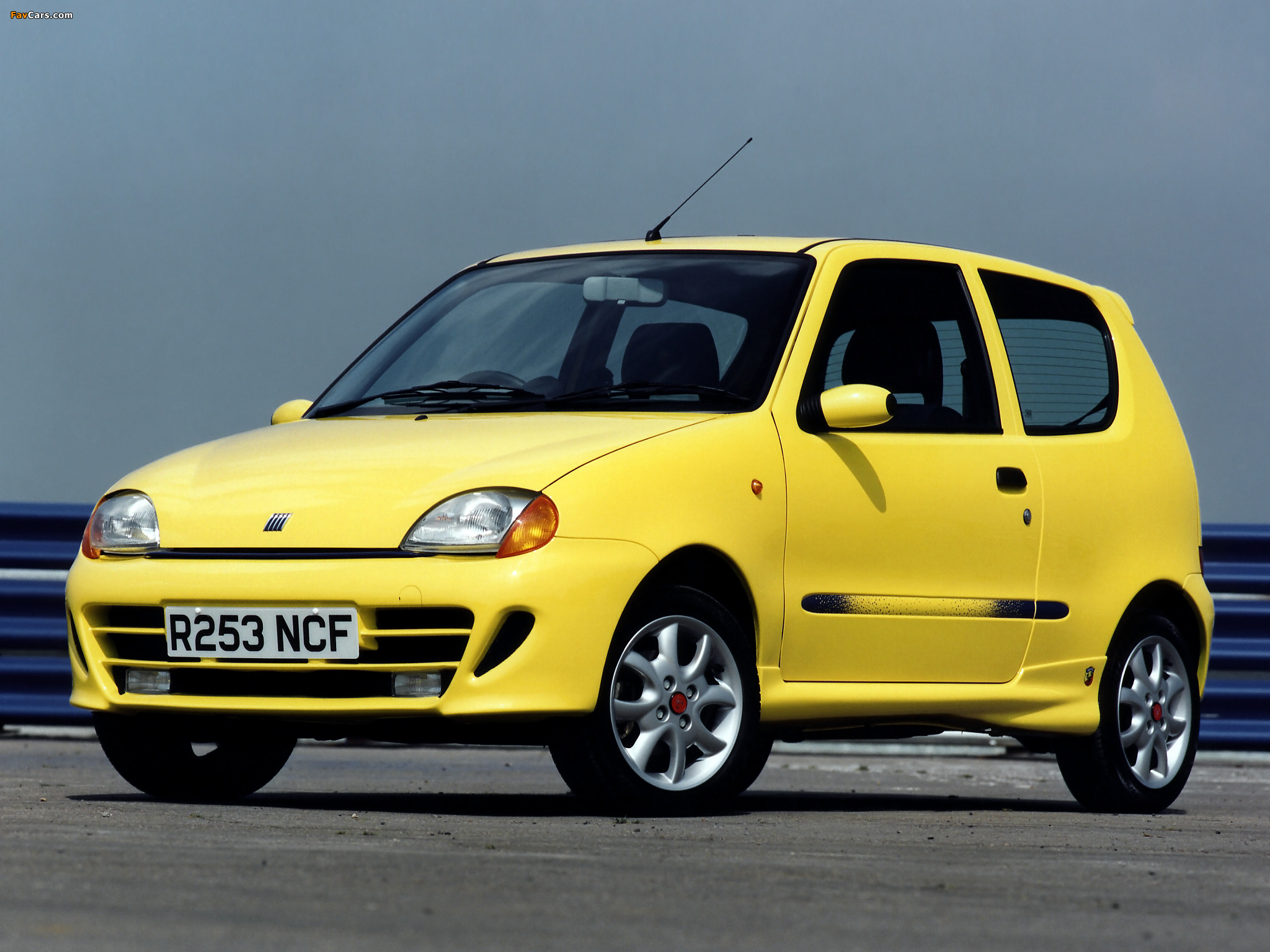 pictures of fiat seicento sporting abarth uk spec 1998. Black Bedroom Furniture Sets. Home Design Ideas