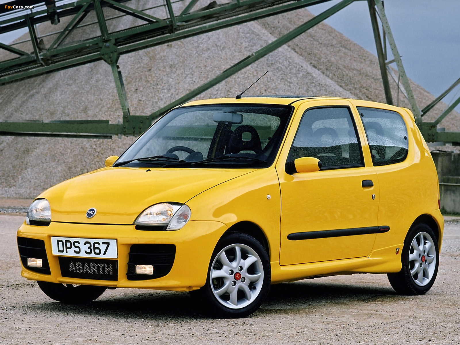 pictures of fiat seicento sporting abarth uk spec 2001. Black Bedroom Furniture Sets. Home Design Ideas