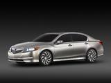 Acura RLX Concept (2012) photos