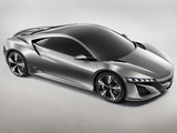Acura NSX Concept (2012) wallpapers