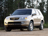 Wallpapers of Acura MDX (2001–2003)
