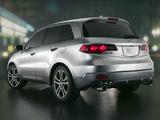 Photos of Acura RDX Prototype (2006)