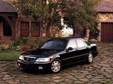 Photos of Acura 3.5RL KA9 (1999–2004)