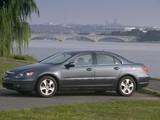 Photos of Acura RL (2004–2008)