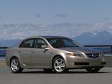 Photos of Acura TL (2004–2007)