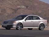 Photos of Acura TL A-Spec (2004–2007)