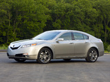 Wallpapers of Acura TL SH-AWD (2008–2011)