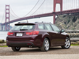 Wallpapers of Acura TSX Sport Wagon (2010)