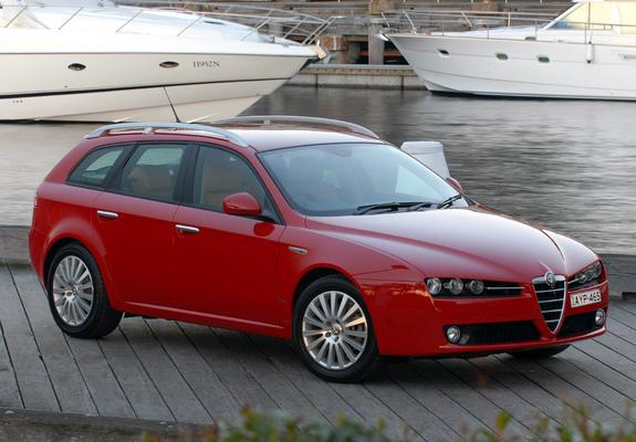 ... Alfa Romeo 159 Sportwagon 2.2 JTS AU-spec 939B (2006–2008) images