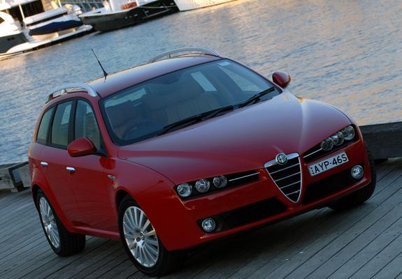... Alfa Romeo 159 Sportwagon 2.2 JTS AU-spec 939B (2006–2008) pictures