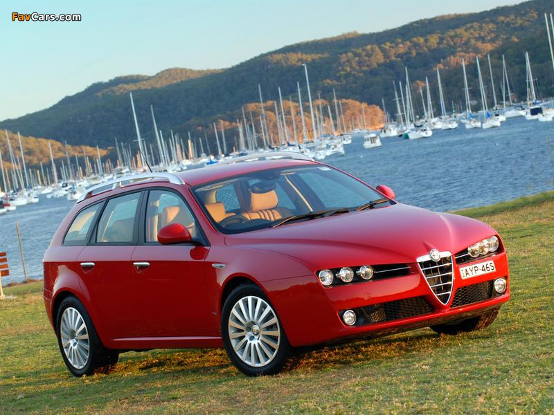 Alfa Romeo 159 Sportwagon 2.2 JTS AU-spec 939B (2006–2008) pictures ...