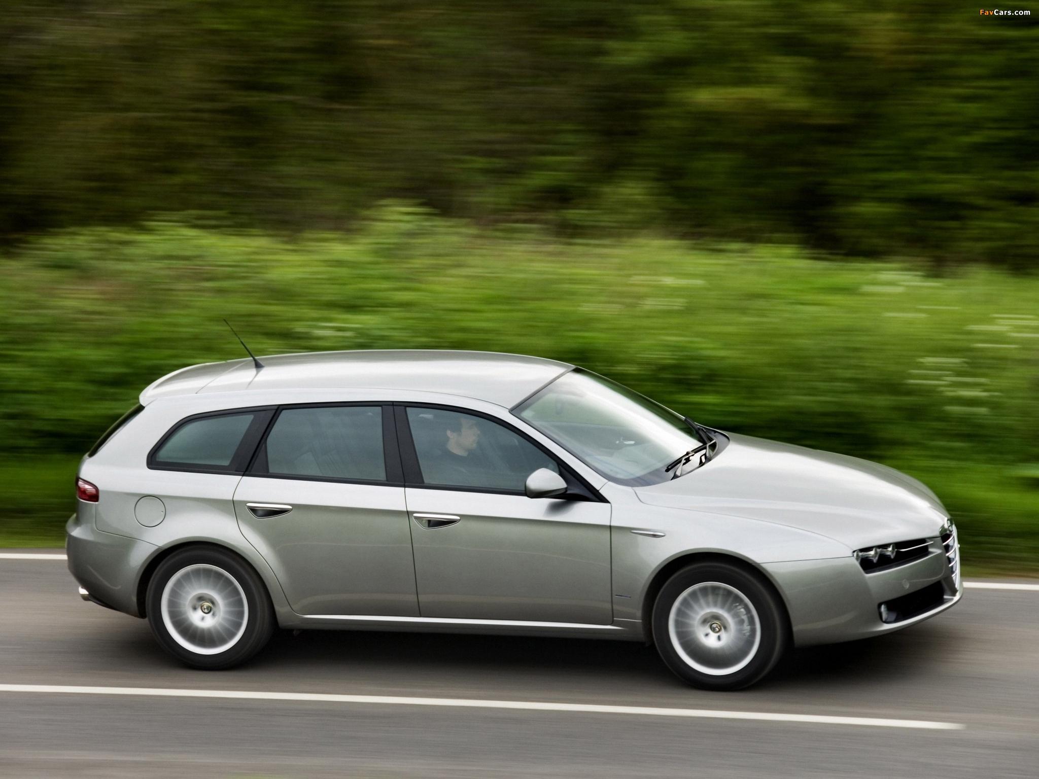 Alfa Romeo 159 Sportwagon 2.2 JTS UK-spec 939B (2006–2008) pictures ...