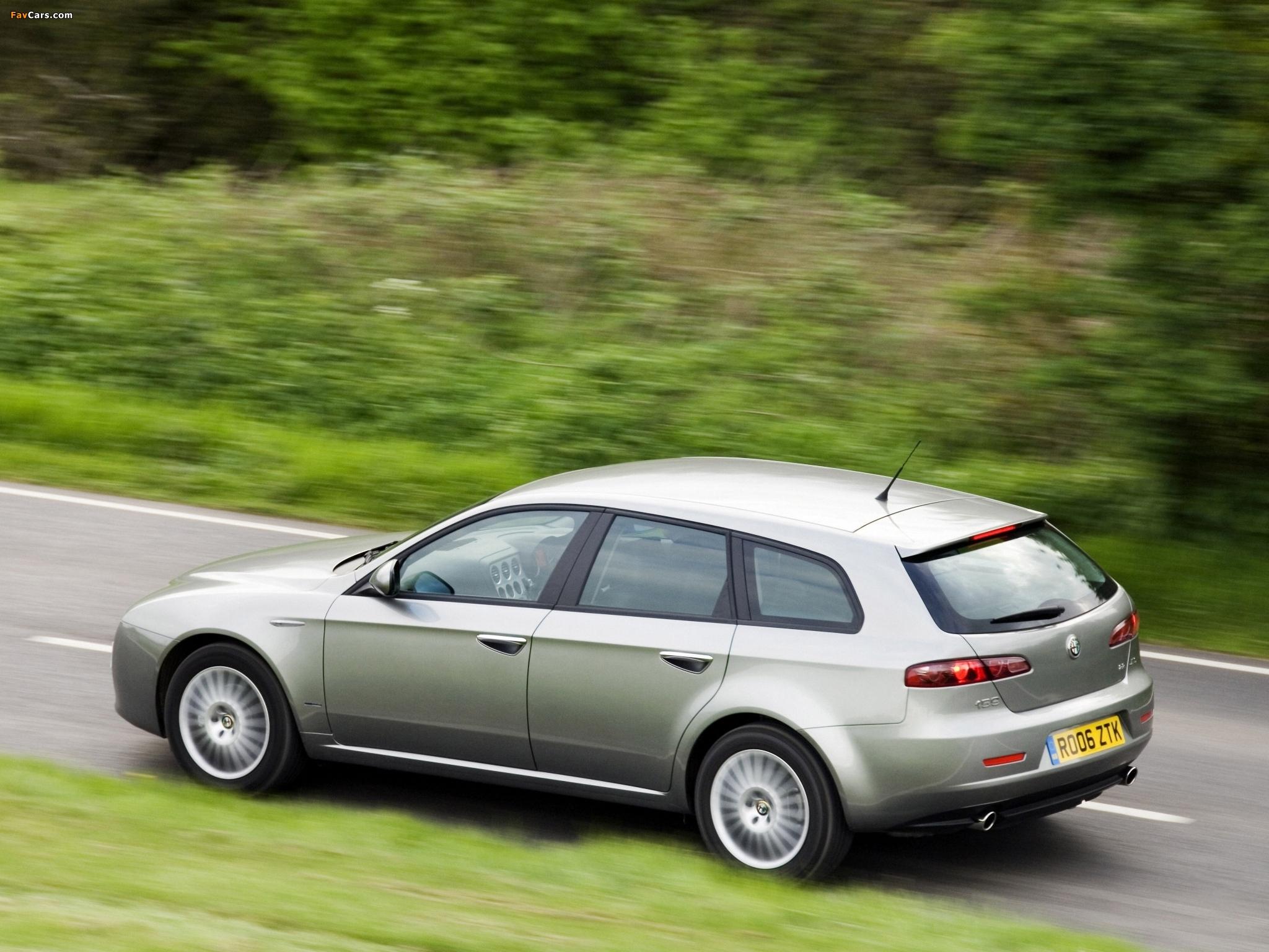 Images of Alfa Romeo 159 Sportwagon 2.2 JTS UK-spec 939B (2006–2008 ...