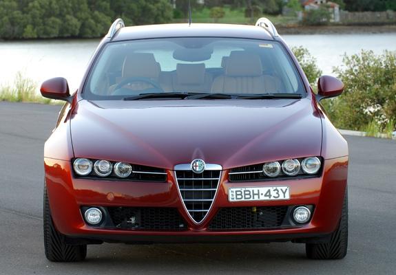 ... of Alfa Romeo 159 Sportwagon 2.4 JTDm AU-spec 939B (2006–2008