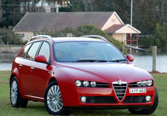 ... of Alfa Romeo 159 Sportwagon 2.2 JTS AU-spec 939B (2006–2008