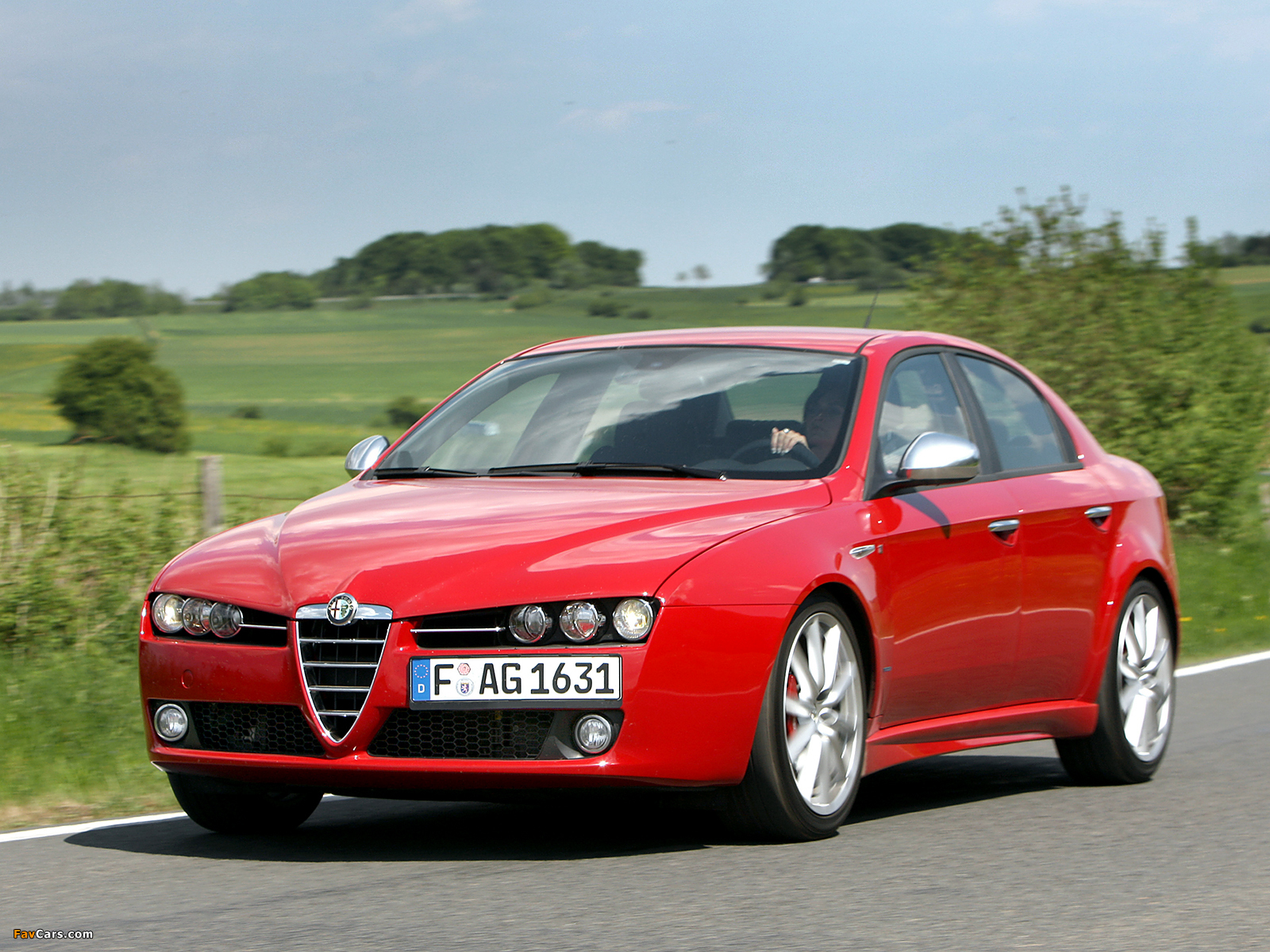 wallpapers of alfa romeo 159 ti 939a 2007 2008 1600x1200. Black Bedroom Furniture Sets. Home Design Ideas