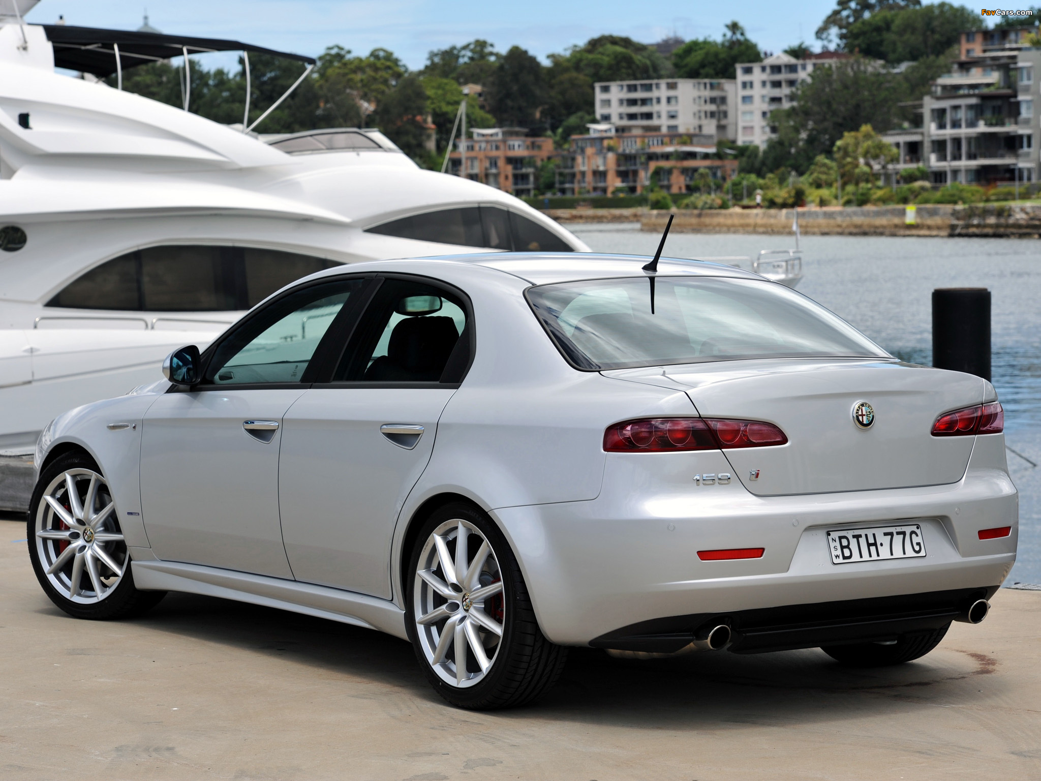 wallpapers of alfa romeo 159 ti au spec 939a 2008 2011. Black Bedroom Furniture Sets. Home Design Ideas