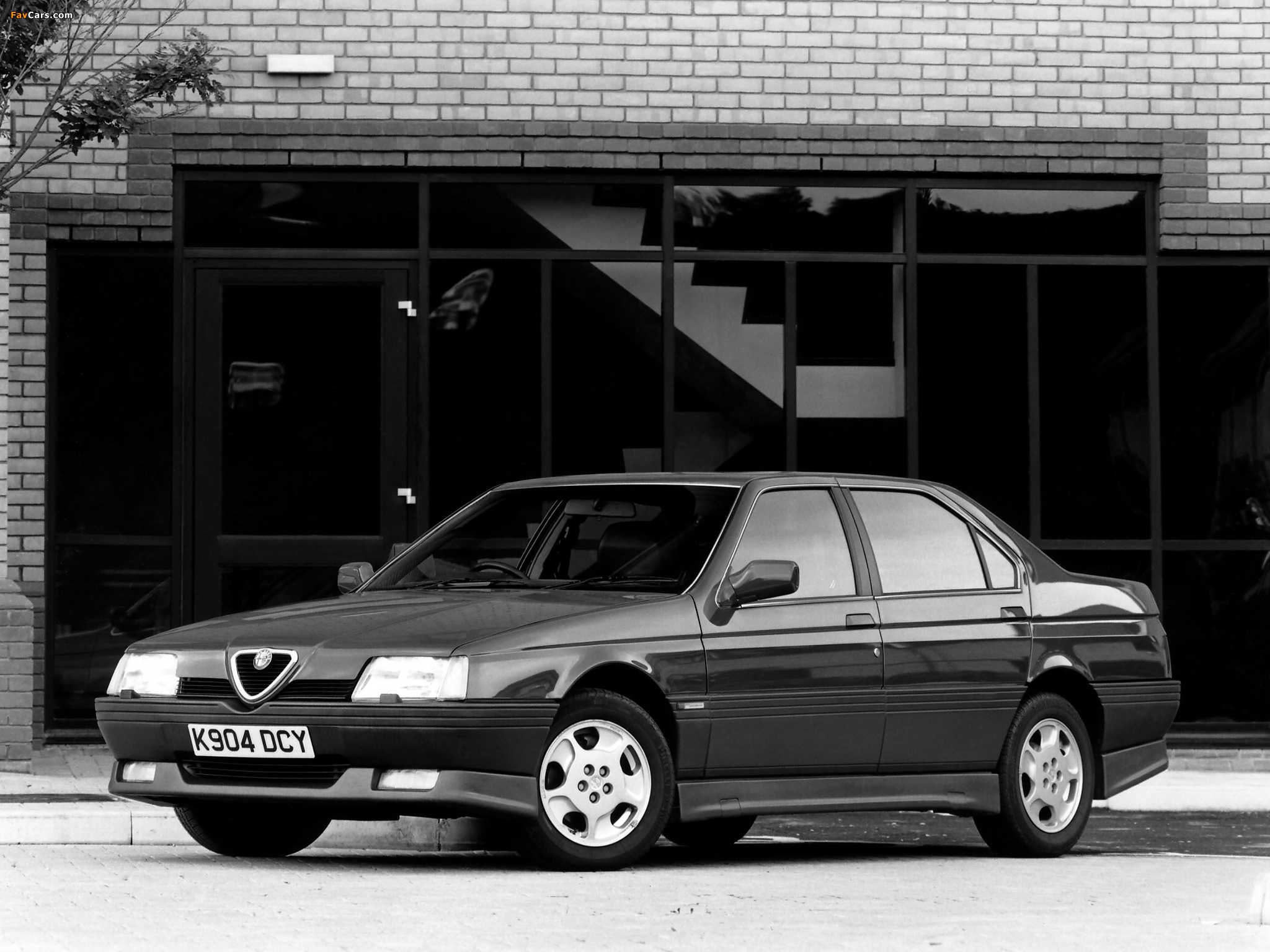 Alfa Romeo 164 Cloverleaf (1990–1992) wallpapers (2048 x 1536)