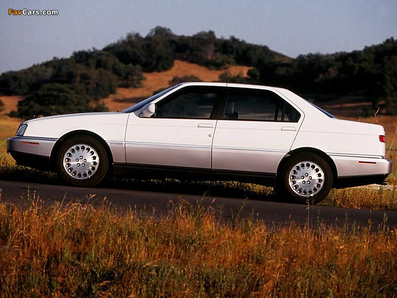 Photos of Alfa Romeo 164 US-spec (1993–1995) (800x600)